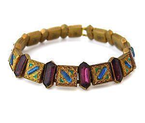 Vintage art deco jewelry ebay for Art deco costume jewelry