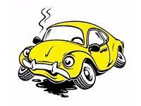 Wanted scrap cars/vans/4×4