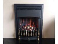 Valor Ultimate Slimline 3.1 Kw Inset Gas Fire (Brass/Black)