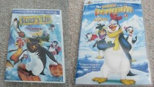Surf's Up Or Pebble & The Penguin on DVD - 2-Disc Sets