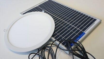 Solar led skylights