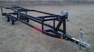 Pontoon Boat 16ft to 18ft Scissor Lift Trailer.  Wanted