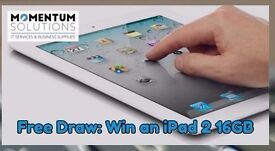 "iPad 2, 9.7"", 16GB - Free Prize Draw or Buy NOW"