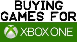 Buying Your Games for Xbox One