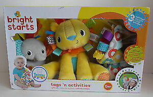 <<BRAND NEW>> Plush toys - Bright Starts Tags  Still in box....