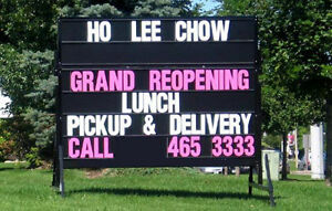 Mobile/ Portable Signs .... Advertising opportunity!!