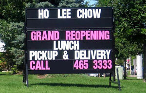 ***Mobile / portable signs **** , Mobile signs ***