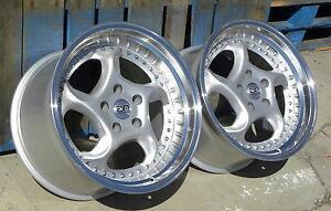 ESM-011R  18x8.5 15x9.5  5x112 VW AUDI $750 CASH ( 4New Wheels ) Zracing 905 673 2828