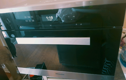 Miele built-in steam oven DG 6401 as new!!!