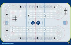 Toronto Maple Leafs Cribbage Board