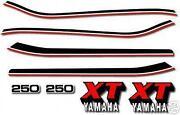 Yamaha XT Decals