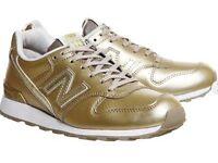 New Balance 996 Gold Mono