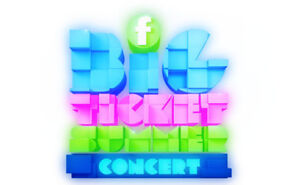 FAMILY CHANNEL'S BIG TICKET SUMMER CONCERT. Second row!