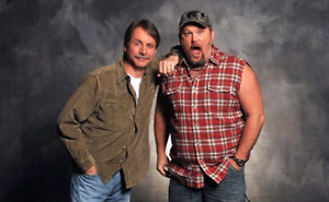 Jeff Foxworthy & Larry the Cable Guy. Front row tickets!