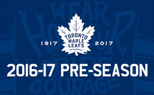 2 Lower Bowl Tickets to the Leafs Game in Halifax