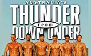 Thunder from Down Under. Saturday night