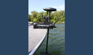 New! 55 lb Electric Trolling Motor - Bow Mount Remote Controlled