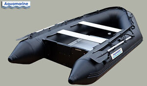 10 ft inflatable boat- MILITARY BLACK made of HEAVY DUTY -WELDED
