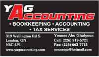 Professional Bookkeeping, Accounting & Tax services