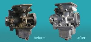 Ultrasonic Parts Cleaning: *Carburetors*Engine Cases*