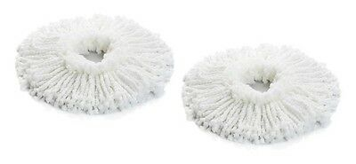 2 Replacement Heads Spin Mop Spinning Magic As Seen On Tv 2 Heads Free Shipping