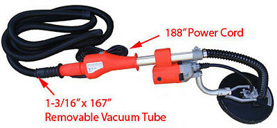 Electric Drywall Ceiling Sander Veriable Speed 2000rpm Free Shipping
