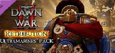 Ultramarines DLC Dawn Of War 2 Retribution PC Steam Code NEW Download Region (Dawn Of War 2 Retribution Ultramarines Dlc)