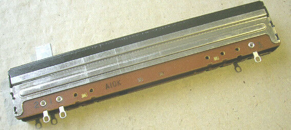 100mm Alps-style mixing console faders