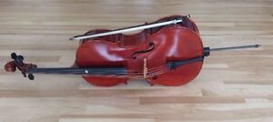 1/4-sized Cello w/ Bow & Soft Case (Peccard)/ 1/4 Violoncelle+