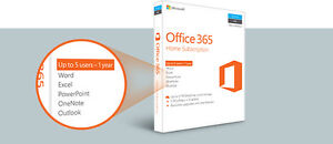 Office 365 Home Subscription - Brand New