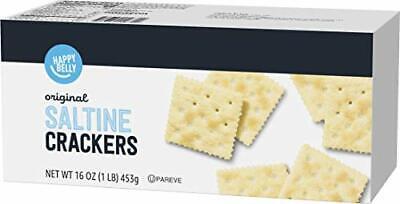 Happy Belly Original Saltine Crackers, 16 Ounce