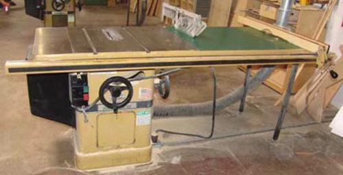 Used powermatic table saws ebay Used table saw