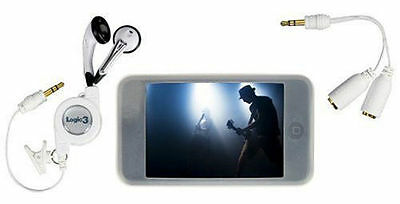 Logic3 iPod Touch Starter Pack comes with Earphones and splitter adapter  ()