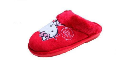 af0ee7526 Womens Hello Kitty Slippers | eBay