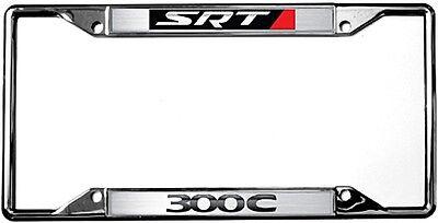 New Chrysler Logo 300C SRT License Plate Frame ()