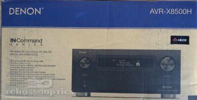 Denon AVR-X8500H Flagship Receiver-8 HDMI In /3 Out, Powerfu