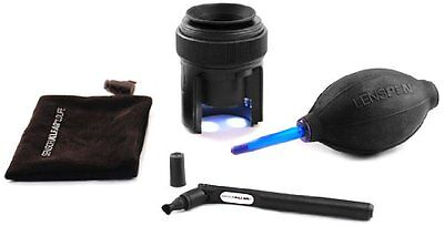 New Lenspen SensorKlearLoupe Kit Elite Sensor Cleaning Kit DSLR Cameras NSKLK-1