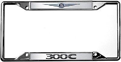 New Chrysler Logo 300C License Plate Frame ()