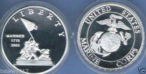 Marine Corps Silver Coin Ebay