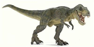 Running Green T REX w/ Movable Jaw Replica 55027 ~ FREE SHIP/USA w/ $25.+ Papo