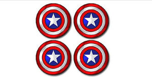 Captain-America-Shield-Wheel-Centres-Choice-of-Sizes