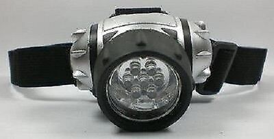 7 LEDs LED Stirnlampe Lampe Kopflampe Fahrrad-leuchte Fahrradlampe Stirn Sport