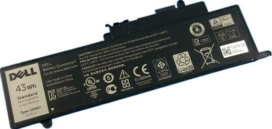 Genuine GK5KY Battery forDell Inspiron 11 3147 3148 3158 13 7347 0WF28 4K8YH