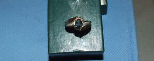 Ring #3 - 10K Yellow Gold + 2 Diamond Ring - $100.00