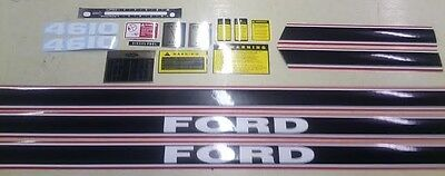 Ford 4610 Hood Cautions Pto Shift Lift Decals