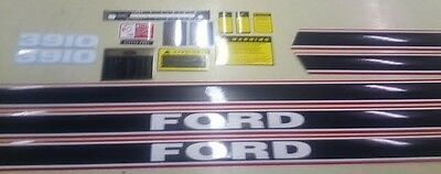 Ford 3910 Hood Cautionsptolift8 Speed Shift Decals