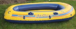 SeaHawk 440 Inflatable Boat 2 Adults For Sale!