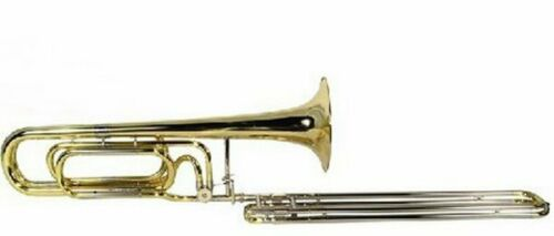 Bb Contrabass Trombone    O'Malley Double Slide Contra Bass --outstanding sound