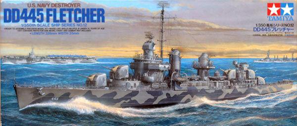 Tamiya 1/350 U.S. Navy DD445 Fletcher # 78012