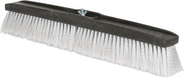 "PRO-SOURCE 24"" General Purpose Polypropylene Push Broom 3"" Bristle Length, Pl..."